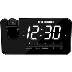 Радио-часы Telefunken TF-1543 Black/White
