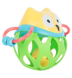 Развивающая игрушка Игруша Сова желтая