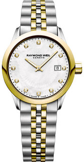 Швейцарские женские часы в коллекции Freelancer Женские часы Raymond Weil 5626-STP-97081