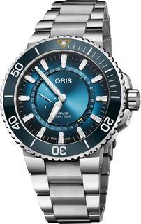 Швейцарские мужские часы в коллекции Aquis Мужские часы Oris 743-7734-41-85MB