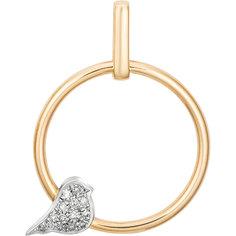 Золотые кулоны, подвески, медальоны Кулоны, подвески, медальоны Алькор 3824-100