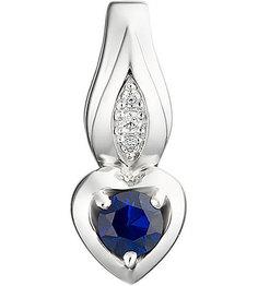 Серебряные кулоны, подвески, медальоны Кулоны, подвески, медальоны Алькор 03-1080/0GTS-00