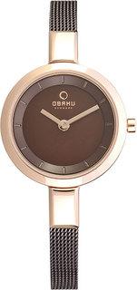 Женские часы в коллекции Mesh Женские часы Obaku V129LXVNMN