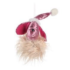 Игрушка елочная Due Esse Christmas Собака 25 см