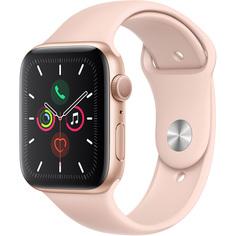 Умные часы Apple Watch Series 5 44 мм золотистый MWVE2RU/A