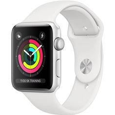 Умные часы Apple Watch Series 3 38 мм серебристый
