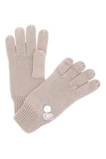 Перчатки с декоративным элементом из пайеток Liu Jo