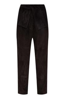 Черные замшевые брюки Espionage Zimmermann