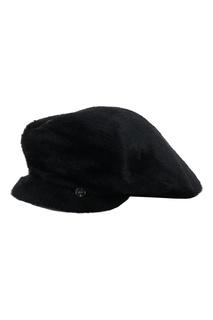 Черное кепи с декором Liu Jo