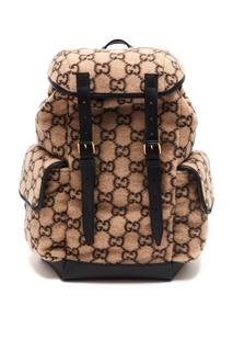 Рюкзак из шерсти GG Gucci