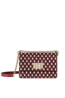 Красная сумка-кроссбоди с узором 1927 Furla