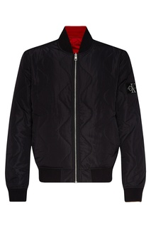Стеганая двухсторонняя куртка-бомбер Calvin Klein