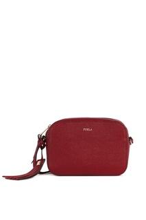 Бордовая сумка Mimi' Furla