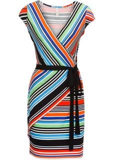 Короткие платья Платье в полоску Bonprix