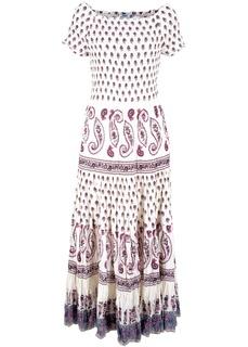 Платье миди с узором пейсли Bonprix