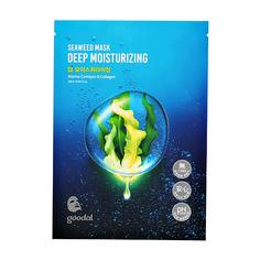 Маска для лица GOODAL SEAWEED с экстрактом водорослей и коллагеном глубоко увлажняющая 28 мл