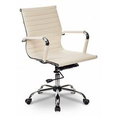 Кресло для руководителя CH-883-Low/IVORY Бюрократ