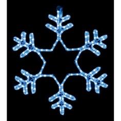 Панно световое [60x60 см] Снежинка NN-501 501-335 Neon Night