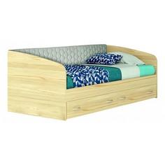 Кровать Уника-П с матрасом 2000x900 Наша мебель