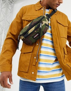 Камуфляжная сумка-кошелек на пояс Eastpak-Зеленый