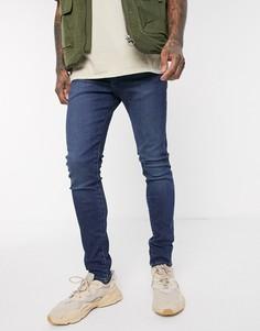 Эластичные джинсы скинни Levis-Синий