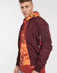Нейлоновая куртка Alpha Industries MA-1-Красный