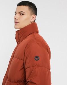 Дутая куртка рыжего цвета Esprit-Красный
