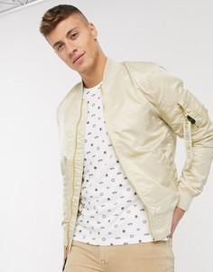Нейлоновая куртка с карманом MA-1 от Alpha Industries-Коричневый