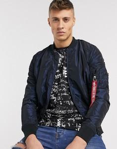 Куртка в стиле MA-1 от Alpha Industries-Синий