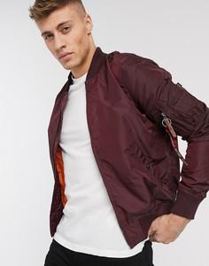 Нейлоновая куртка Alpha Industries MA-1-Коричневый