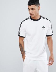 Белая футболка adidas Originals adicolor California CW1203-Белый