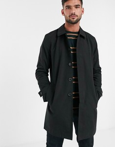 Черный макинтош Burton Menswear