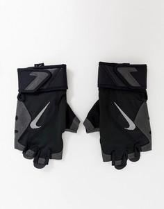 Черные перчатки Nike Training Premium Fitness-Черный