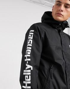 Черная куртка Helly Hansen-Черный