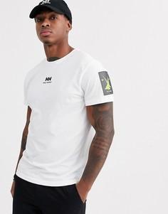 Белая футболка с логотипом Helly Hansen-Белый