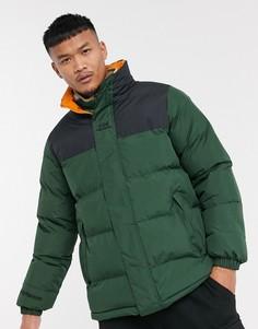 Дутая куртка цвета хаки Helly Hansen Yu-Зеленый