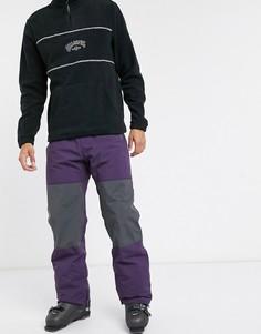 Фиолетовые горнолыжные брюки Billabong-Фиолетовый