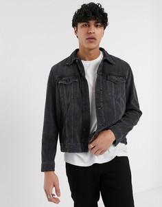 Серая джинсовая куртка Nudie Jeans-Серый