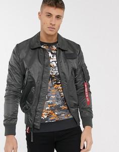 Нейлоновая куртка Alpha Industries-Серый