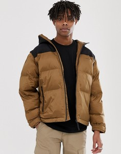Коричневая куртка с отстегиваемыми рукавами Carhartt WIP-Коричневый
