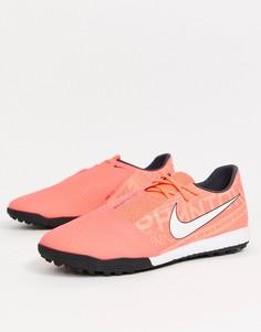 Оранжевые футбольные бутсы Nike Football - Phantom Venom Academy TF-Оранжевый