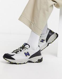 Серебристые кроссовки для бега по пересеченной местности New Balance 801-Серый