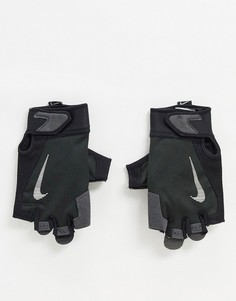 Черные мужские перчатки Nike Training-Черный
