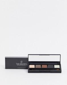 Набор для макияжа век и бровей HD Brows - vamp-Черный