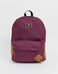 Красный рюкзак Vans Old Skool II