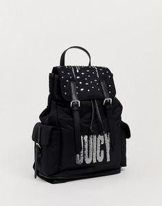 Рюкзак с заклепками Juicy Couture-Черный