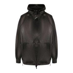 Куртки Bottega Veneta Кожаный анорак Bottega Veneta