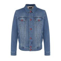 Куртки Kiton Джинсовая куртка на пуговицах Kiton