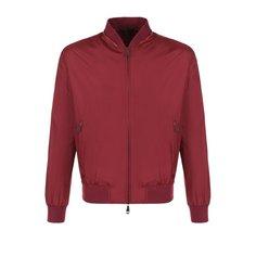 Куртки Brioni Шелковый бомбер на молнии Brioni