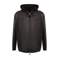 Куртки Bottega Veneta Кожаный бомбер Bottega Veneta